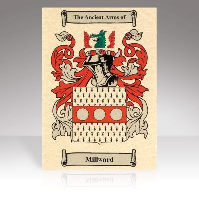 Family Crest Scroll