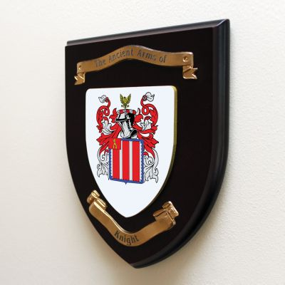 Single Family Crest Shield