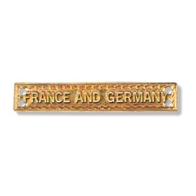 France & Germany Bar Full Size