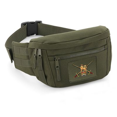 Printed Utility Waistpack - Military Green