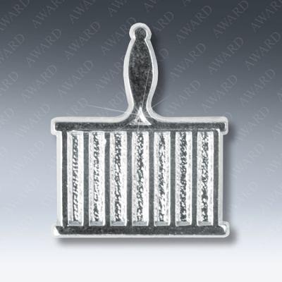 Grid Iron Lapel Pin