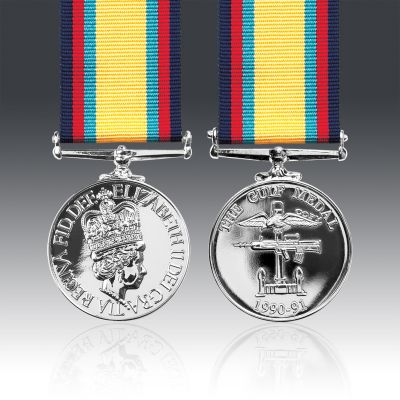 Gulf Medal (No Clasp) Full Size Loose
