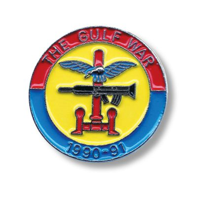 Gulf War Lapel Badge