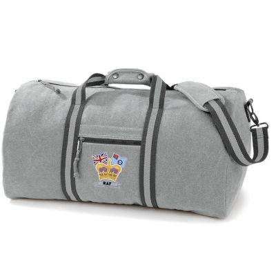 Crown & Country Vintage Canvas Holdall
