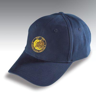 Embroidered Baseball Hat Navy Blue Hong Kong
