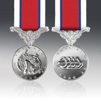 Hors De Combat Full Size Medal