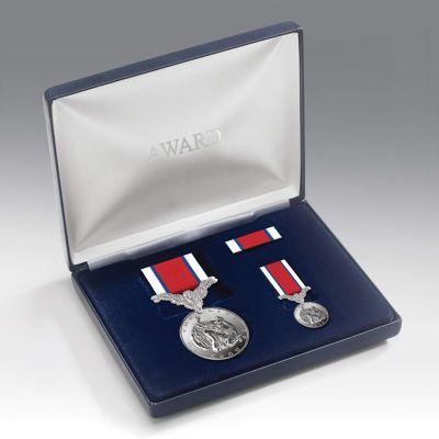 Medal Presentation Set Hors De Combat With Poppy