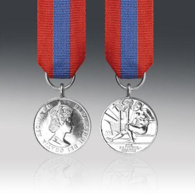 Imperial Service Medal EIIR Miniature Loose