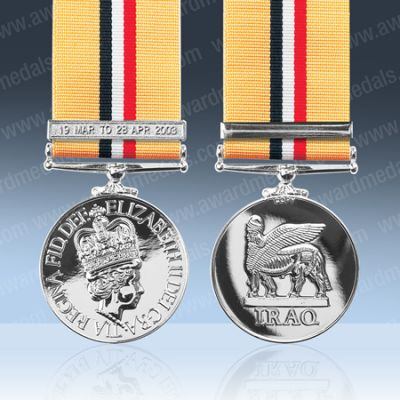 Iraq Op Telic With Clasp 19 Mar - 28 Apr 2003 Full Size Loose