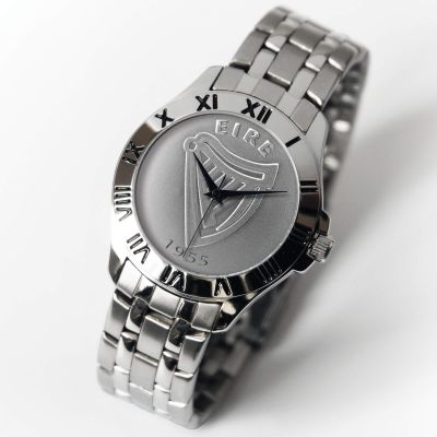 Patriot Watch Silver Bracelet IRISH