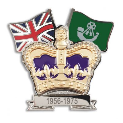 Light Infantry Crown & Country Lapel Badge