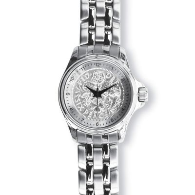 Lifestyle Ladies Watch With Silver Case And Silver Bracelet