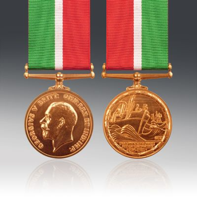 Mercantile Marine War Medal (WWI) Full Size Loose