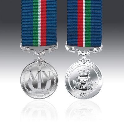 Merchant Naval Service Miniature Medal