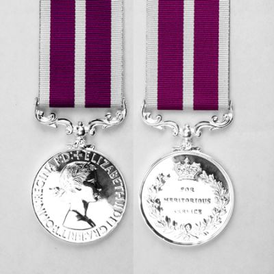 Meritorious Service Medal EIIR Full Size Loose