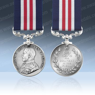 Military Medal GV Field Marshalls Bust Full Size Loose
