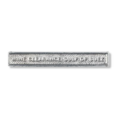 Mine Clearance Gulf Of Suez Clasp Full Size With Pin