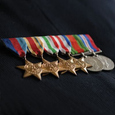 SWING MEDAL MOUNTING FULL SIZE 8