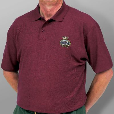 Polo Shirt - Burgundy -