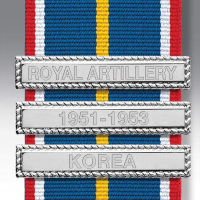Nickel Finish Medal Clasp