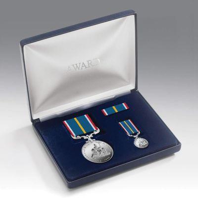 Medal Presentation Set NATIONAL SERVICE