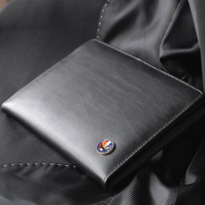 Medal Wallet With Enamelled Lapel Badge