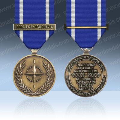 Nato Former Yugoslavia Full Size Medal Loose