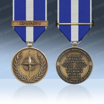Nato Kosovo Full Size Medal Loose