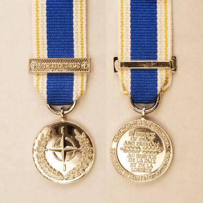 NATO Meritorious Service Miniature Medal Loose