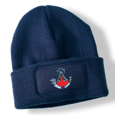 Light Infantry Navy Blue Acrylic Beanie Hat