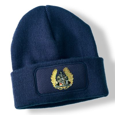 National Service Britannia Navy Blue Acrylic Beanie Hat