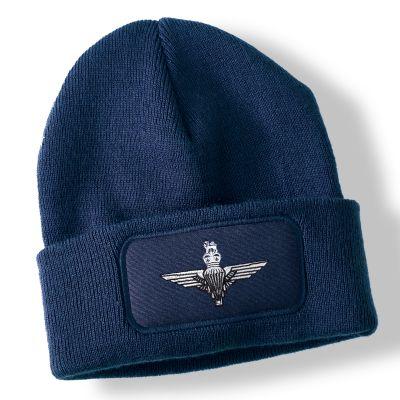 Parachute Regiment Navy Blue Acrylic Beanie Hat