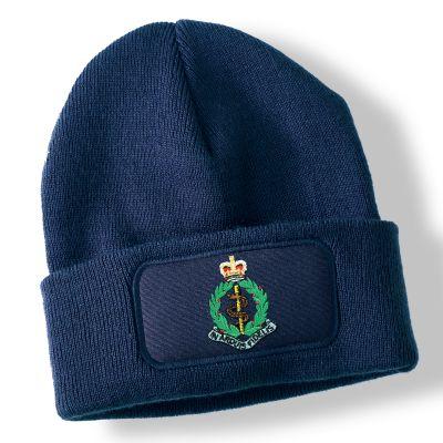 Royal Army Medical Corps Navy Blue Acrylic Beanie Hat