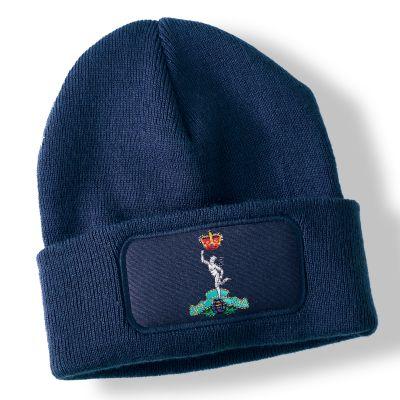 Royal Signals Navy Blue Acrylic Beanie Hat