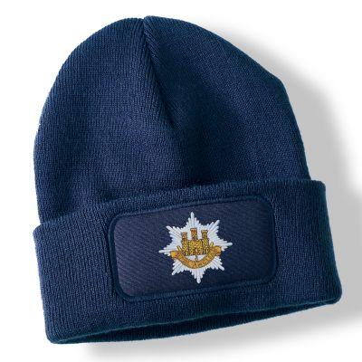 Royal Anglian Regiment Navy Blue Acrylic Beanie Hat