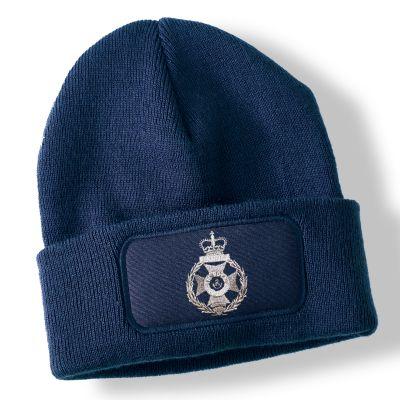 Royal Green Jackets Navy Blue Acrylic Beanie Hat