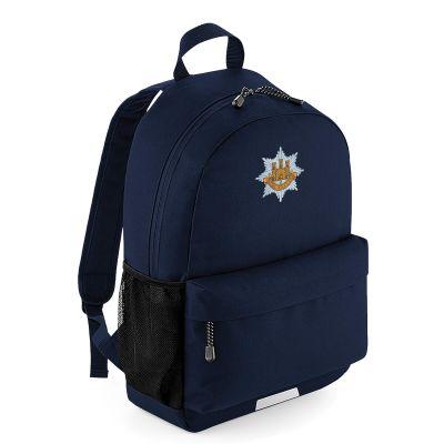 Navy Blue Printed Rucksack