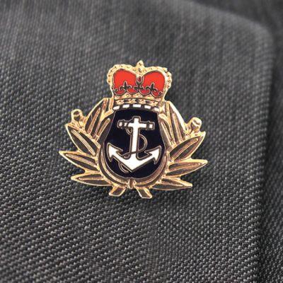 Royal Navy Lapel Badge