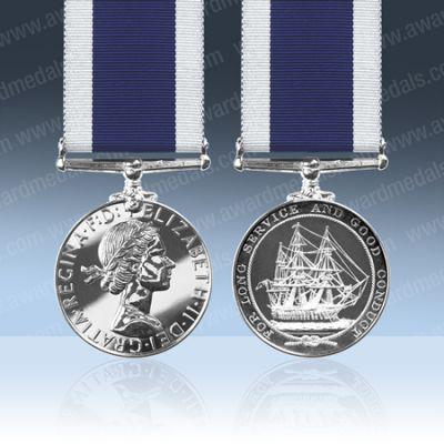 Royal Navy LS & GC EIIR Full Size Medal Loose