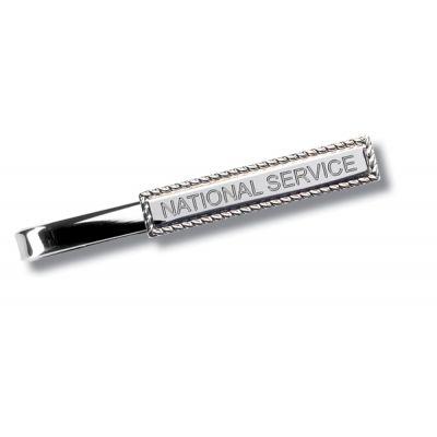 Clasp Style Tie Slide- Nickel
