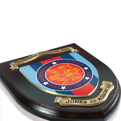 NORMANDY 75 SHIELD PERSONALISED
