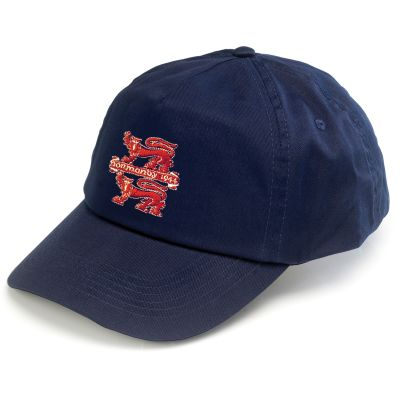 Embroidered Baseball Hat Navy Blue Normandy
