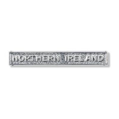 Northern Ireland Clasp Full Size With Pin