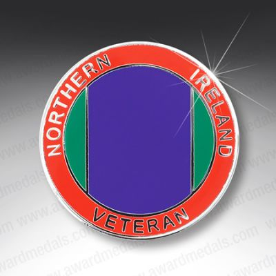 NORTHERN IRELAND VETERANS  LAPEL BADGE