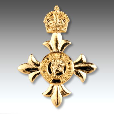 OBE Lapel Badge