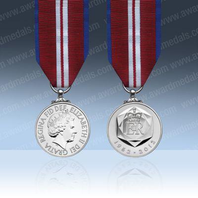 2012 Queens Diamond Jubilee Miniature Medal Loose