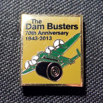 Dambusters 70 Lapel Pin (Green)