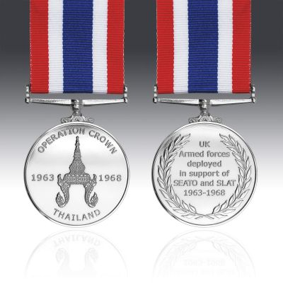 Operation Crown Full Size Medal
