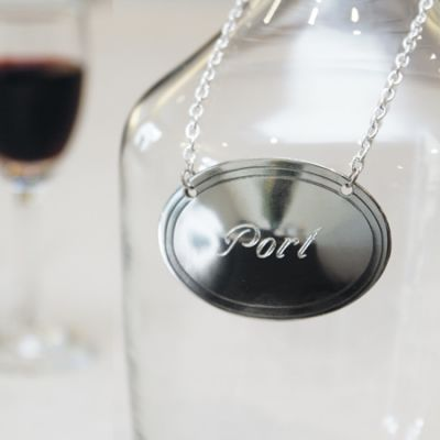 Oval Decanter Label
