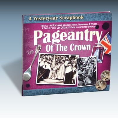 Pageantry Of The Crown Scrapbook